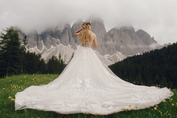 koszt wesela suknia ślubna