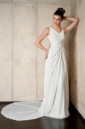 Suknia ślubna Z Długim Trenem Weddingpl