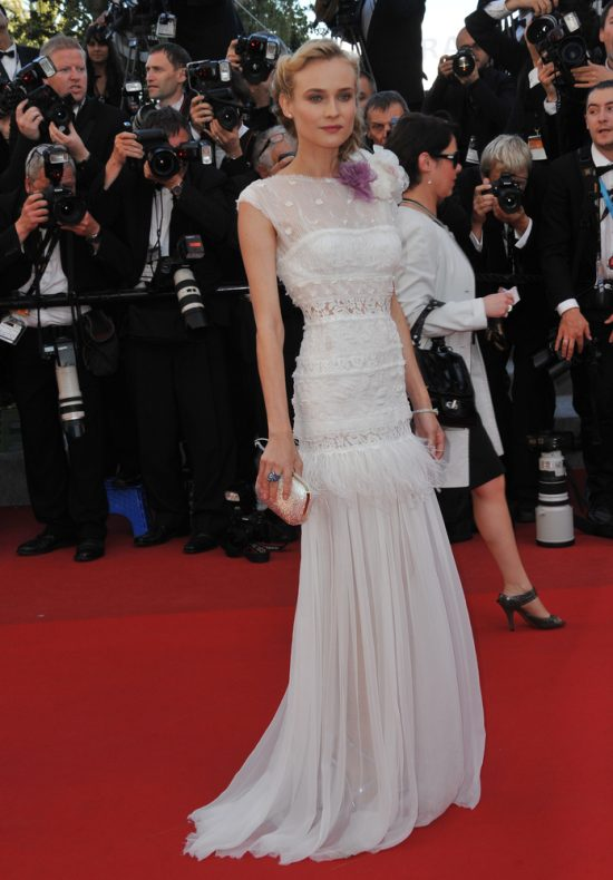 Suknie z czerwonego dywanu Cannes - Diane Kruger