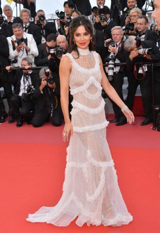 Suknie z czerwonego dywanu Cannes - Cheryl Cole