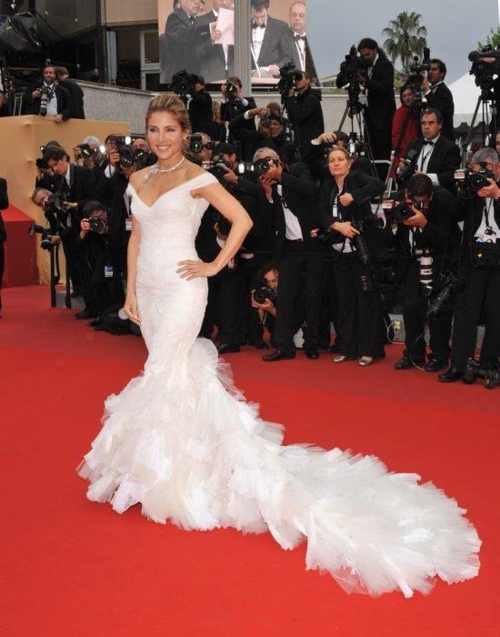 Suknie z czerwonego dywanu Cannes - Elsa Pataky
