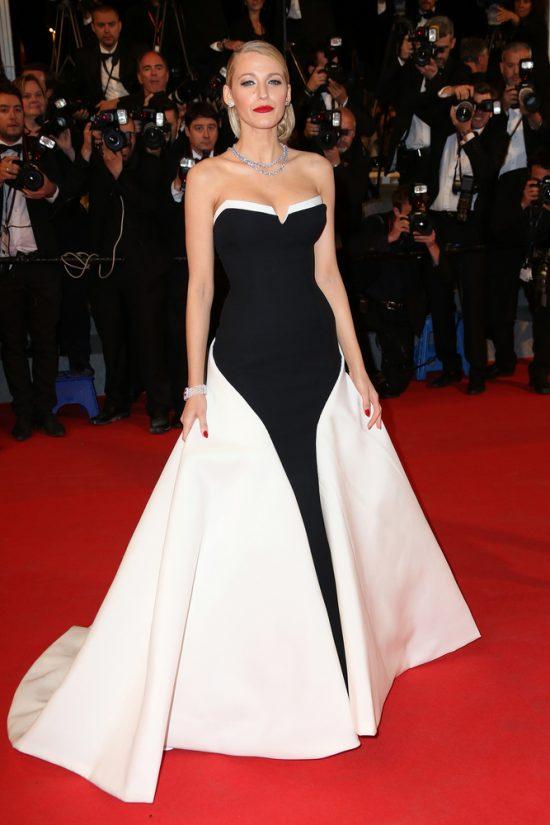 Suknie z czerwonego dywanu Cannes - Blake Lively