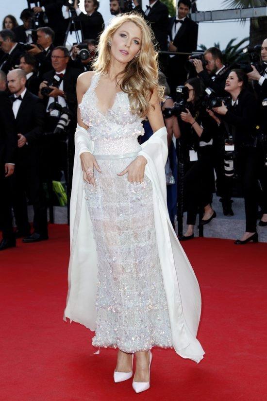 Suknie z czerwonego dywanu Cannes - Blake Lively, Chanel