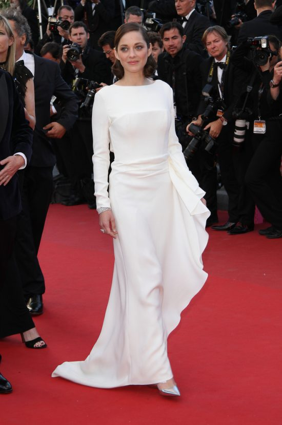 Suknie z czerwonego dywanu Cannes - Marion Cotillard