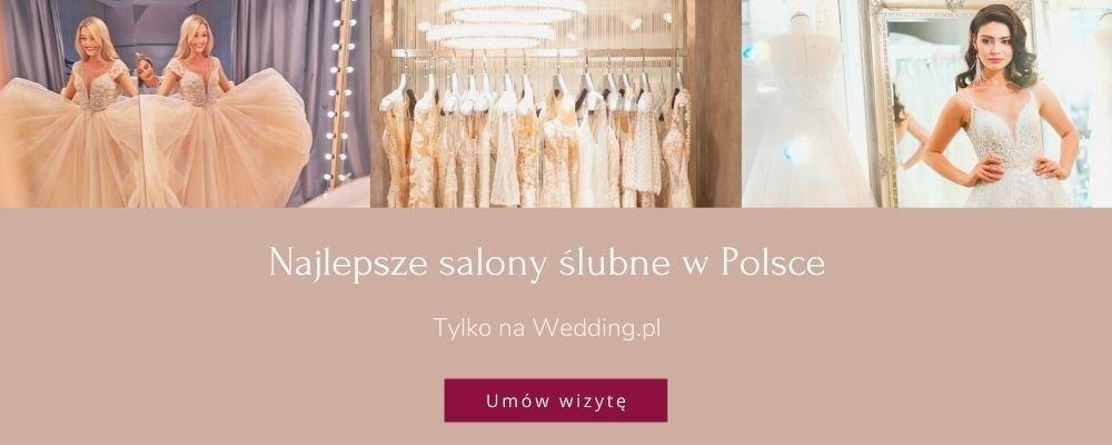 najlepsze salony sukien ślubnych