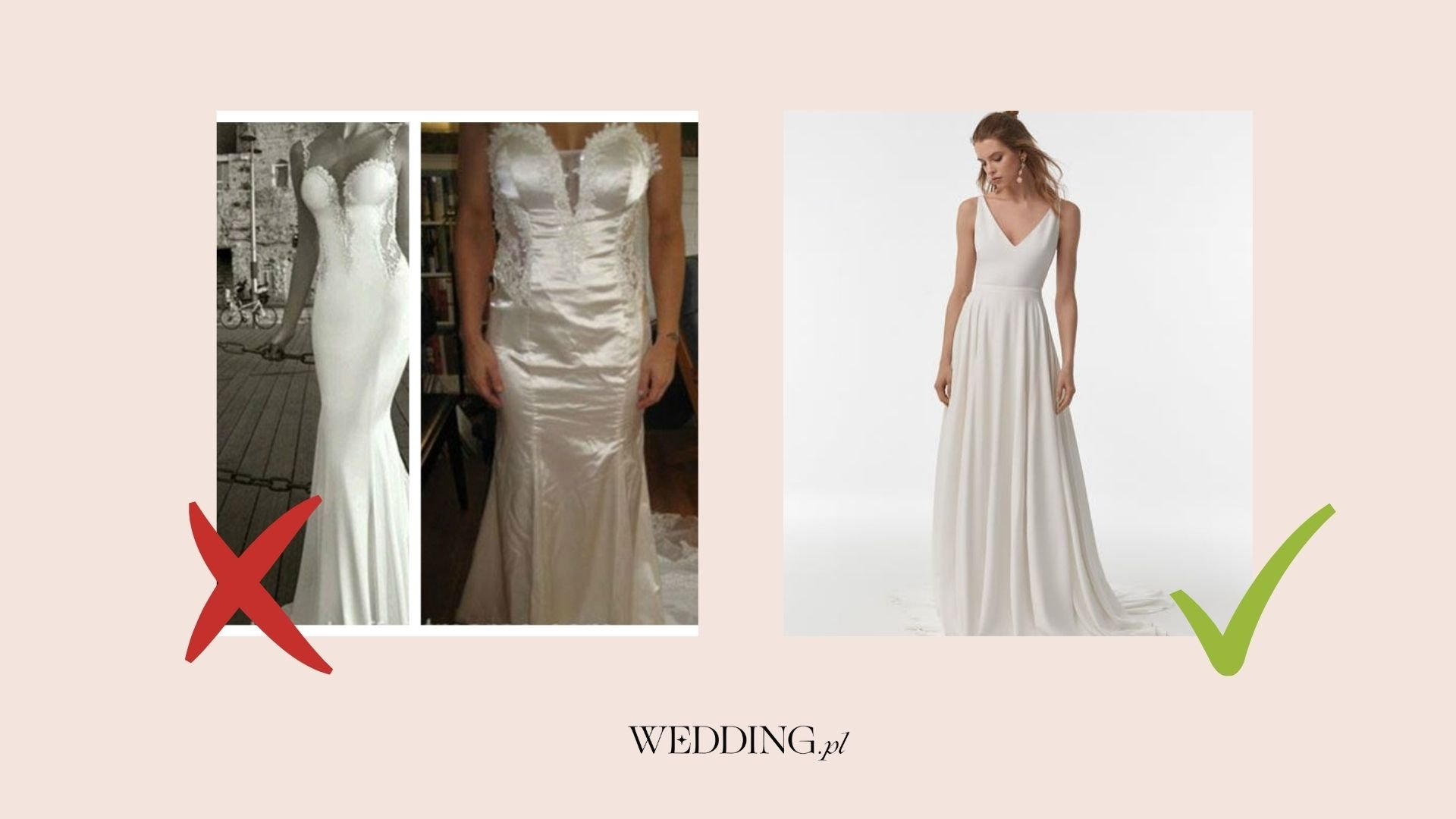 suknia ślubna - jakość a cena