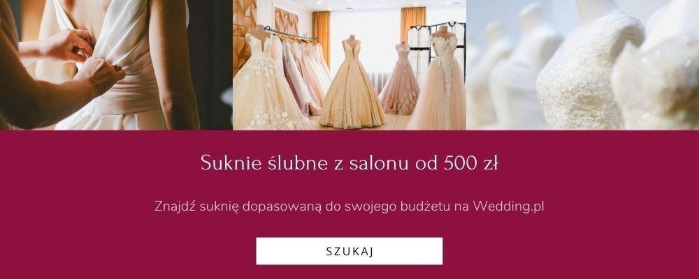 suknie ślubne za mniej niż 1000 zł