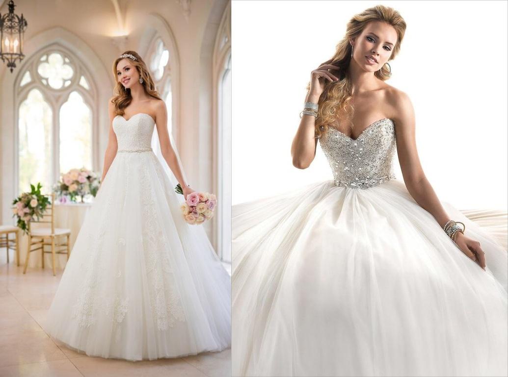 Suknia ślubna z gorsetem - zdjęcie 6