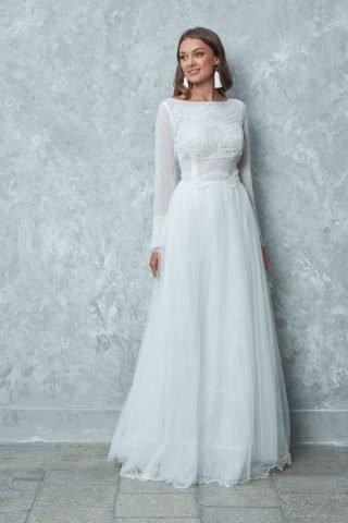 Suknie ślubne trendy 2020 - styl boho