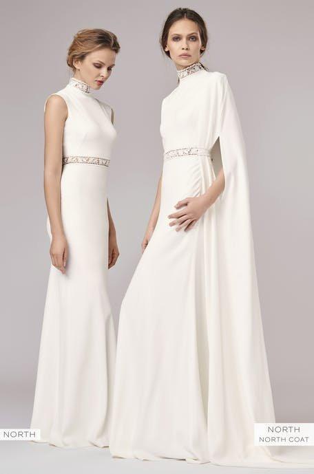 Suknie ślubne z golfem trendy 2020