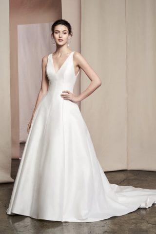 Proste suknie ślubne trendy 2020
