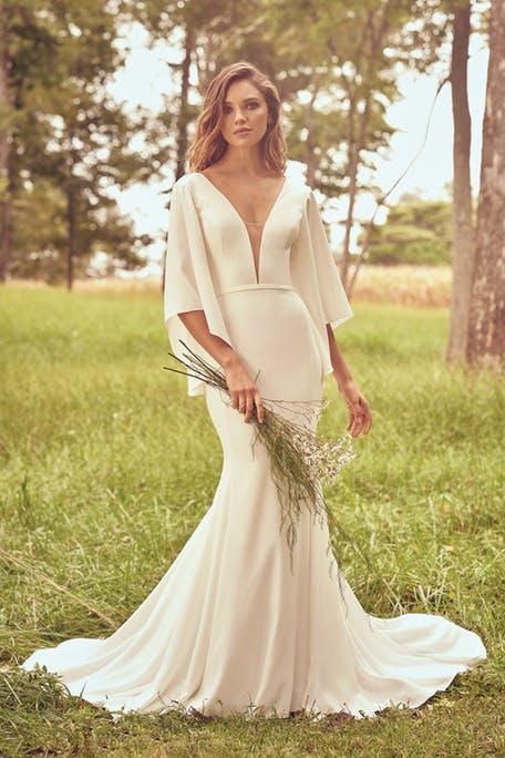 Suknie ślubne trendy 2020 - oryginalne rękawy