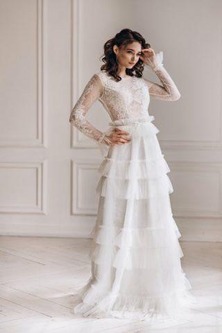 Suknie ślubne trendy 2020 - styl vintage
