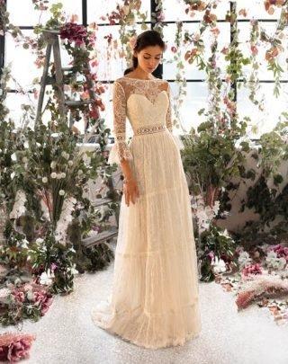 Suknie ślubne trendy 2020 - styl retro