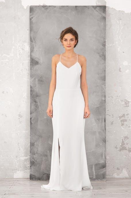 Suknie ślubne trendy 2020 styl lat 90.