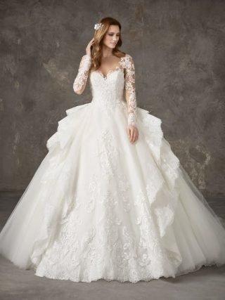 Suknie ślubne z dużą spódnicą 2020