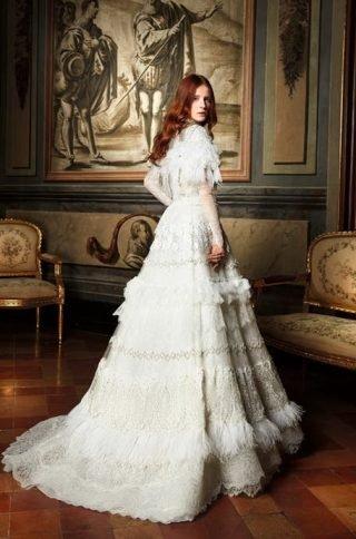 Suknie ślubne w stylu lat 80.