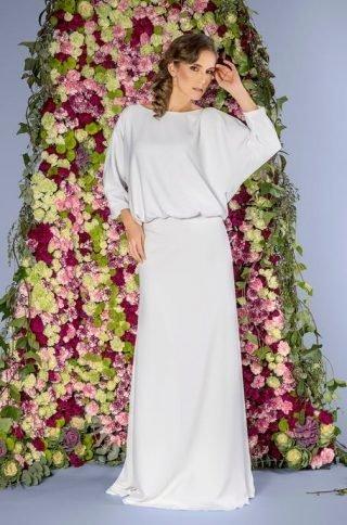Suknie ślubne a la kimono 2020