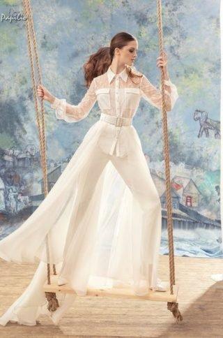 Ślubny garnitur damski 2020