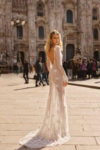 Suknie ślubne w kwiaty 2020