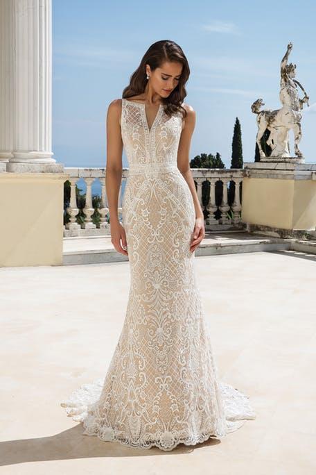 Koronkowe suknie ślubne 2020