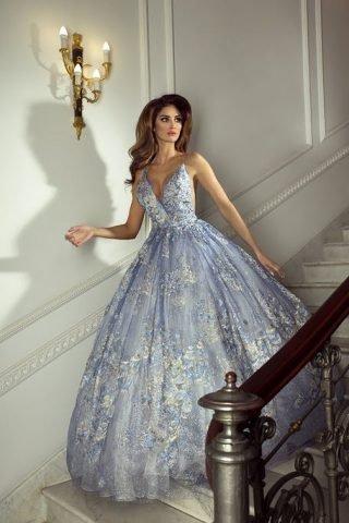 Niebieskie suknie ślubne 2020