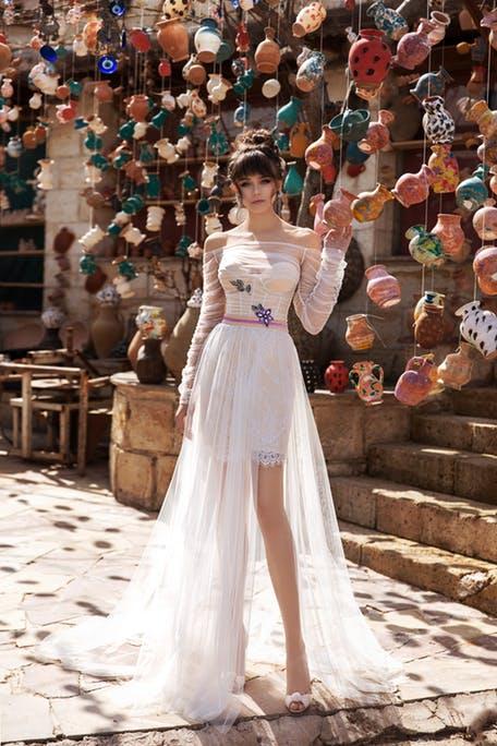 Suknie ślubne z doczepianą spódnicą 2020