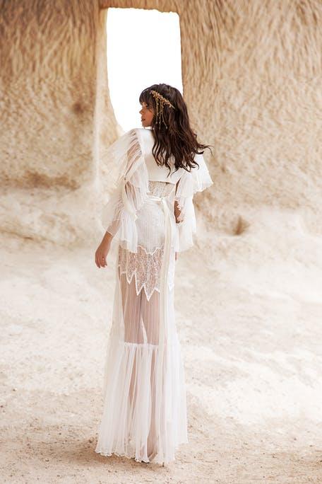Suknie ślubne z okryciem 2020