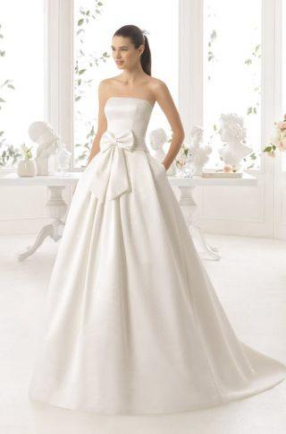 Suknie ślubne z kokardką 2020
