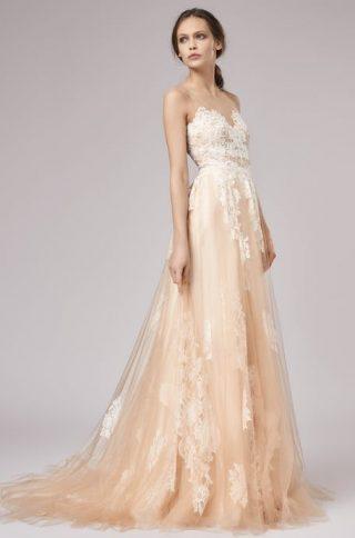 Kolorowe suknie ślubne 2020