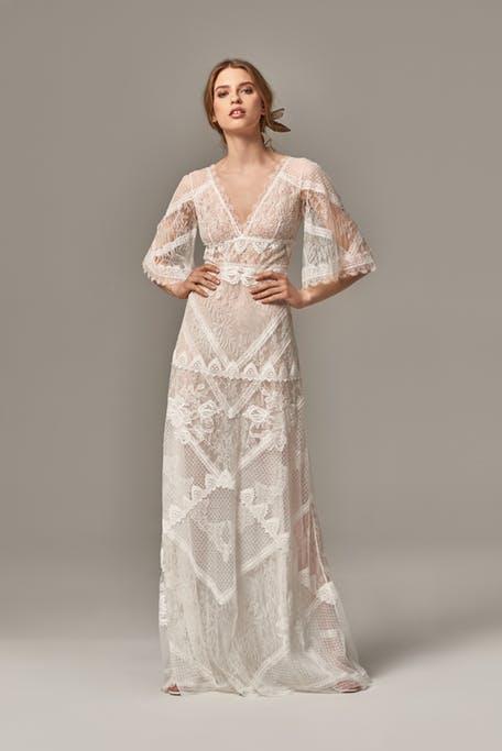 Suknie ślubne z koronki 2020