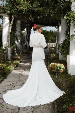 Suknie ślubne z blazerem 2020