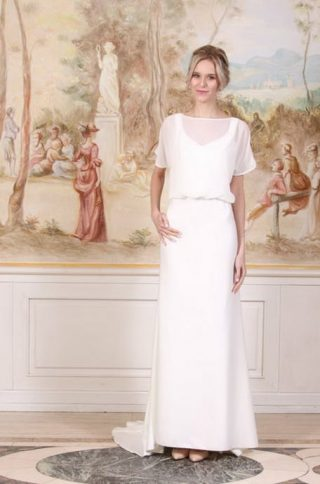 Kimonowe suknie ślubne 2020