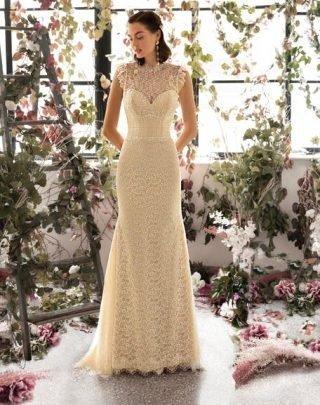 Suknie ślubne z koronki - trendy 2020