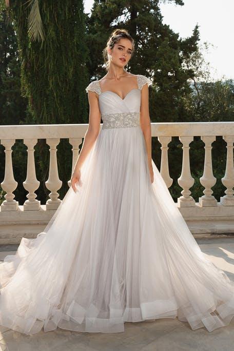 Zwiewne suknie ślubne 2020