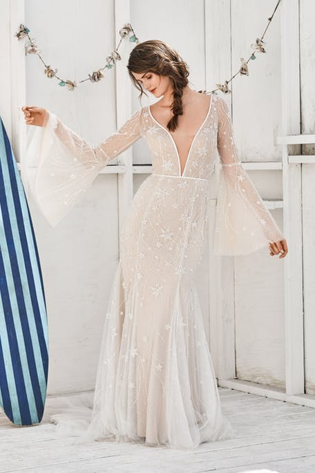 Suknie ślubne z motywem gwiazd 2020