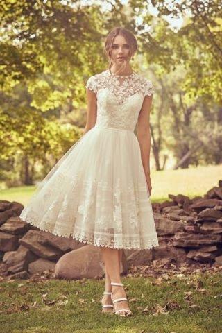 Suknie ślubne za kolano 2020