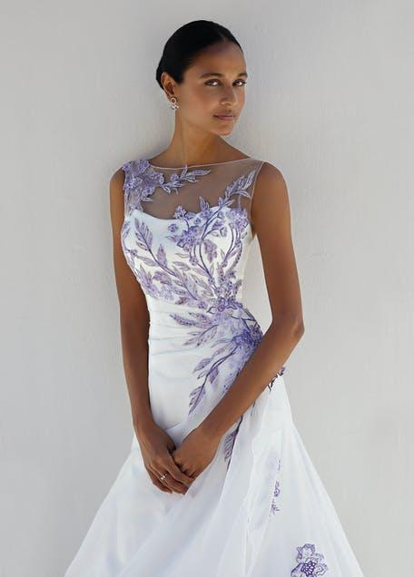 kolorowe suknie ślubne kolekcje 2021