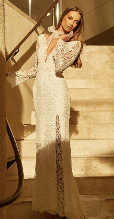 koronkowe suknie ślubne 2021