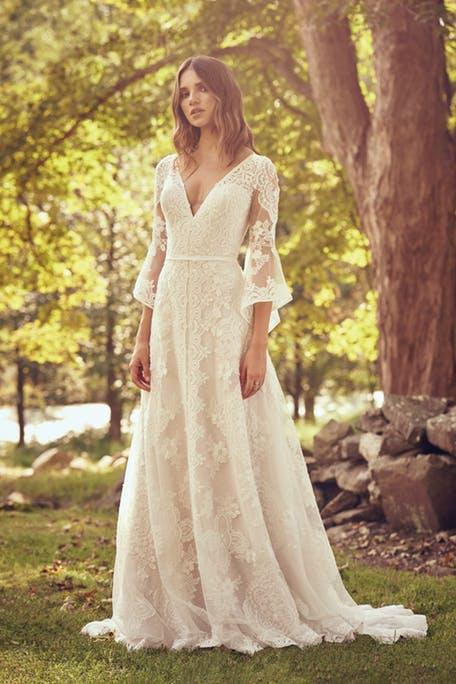 Suknie ślubne w stylu retro - trendy 2020