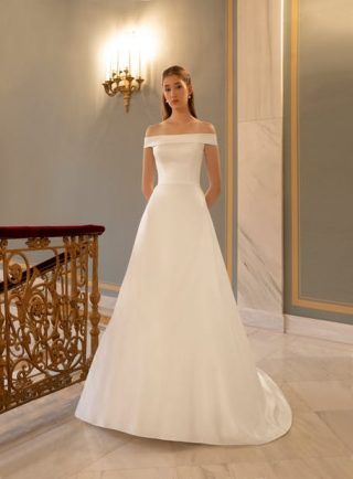 Subtelne suknie ślubne trendy 2020
