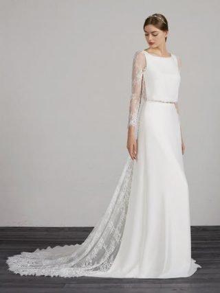 Boho suknie ślubne - trendy 2020