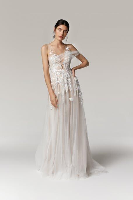 romantyczne suknie ślubne 2021