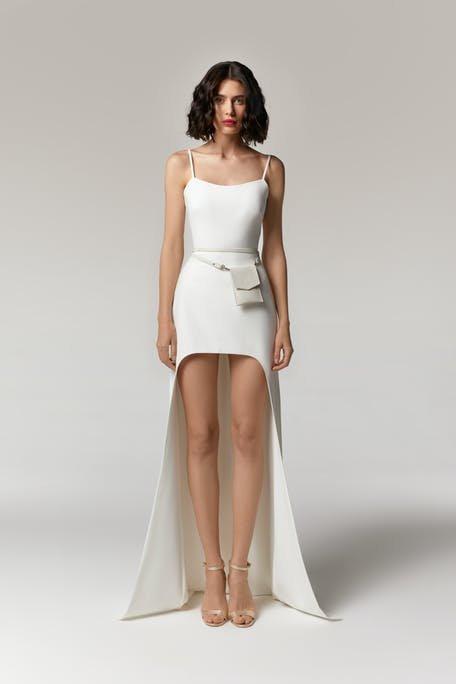 sportowa suknia ślubna 2021