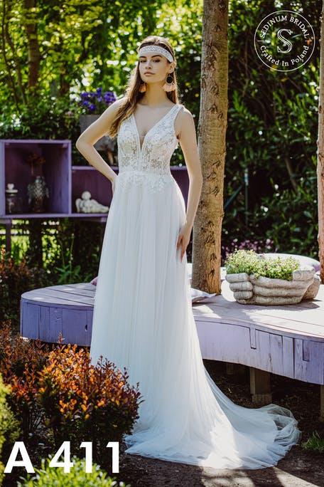 suknie ślubne boho 2021