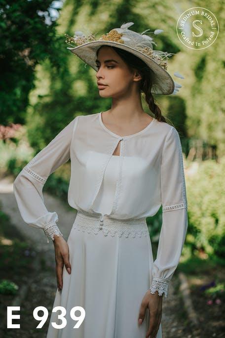 suknie ślubne w stylu retro 2021