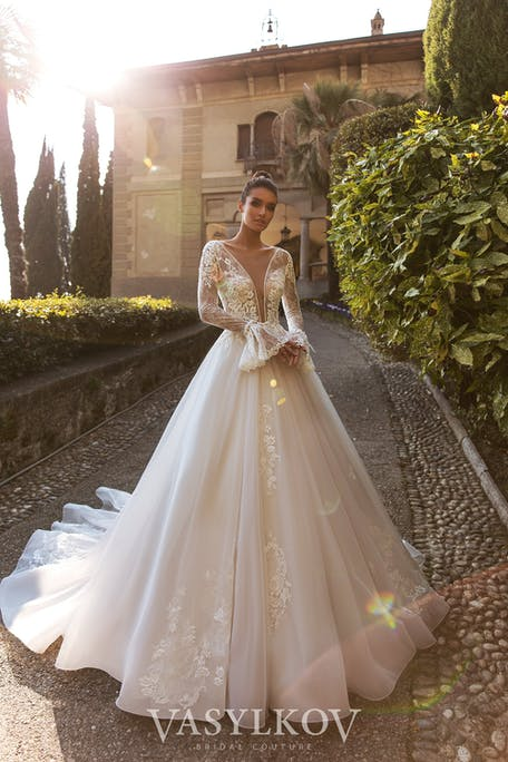 suknie ślubne z długim rękawem 2021