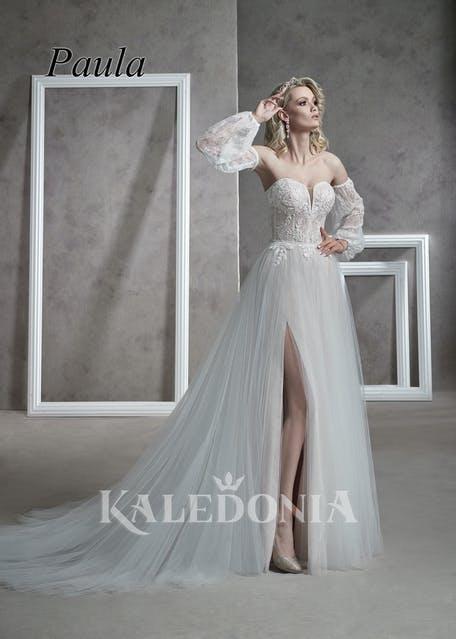 suknie ślubne z rozporkiem 2021