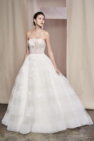 Suknie ślubne trendy 2020 - princesski