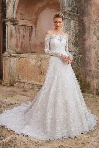 Suknie ślubne z długim rękawem 2020